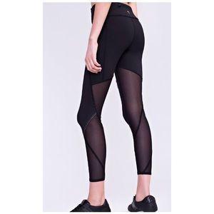 IVIVVA girls leggings mesh insert size 10
